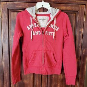 Size S Abercrombie & Fitch Zip Hoodie Sweatshirt
